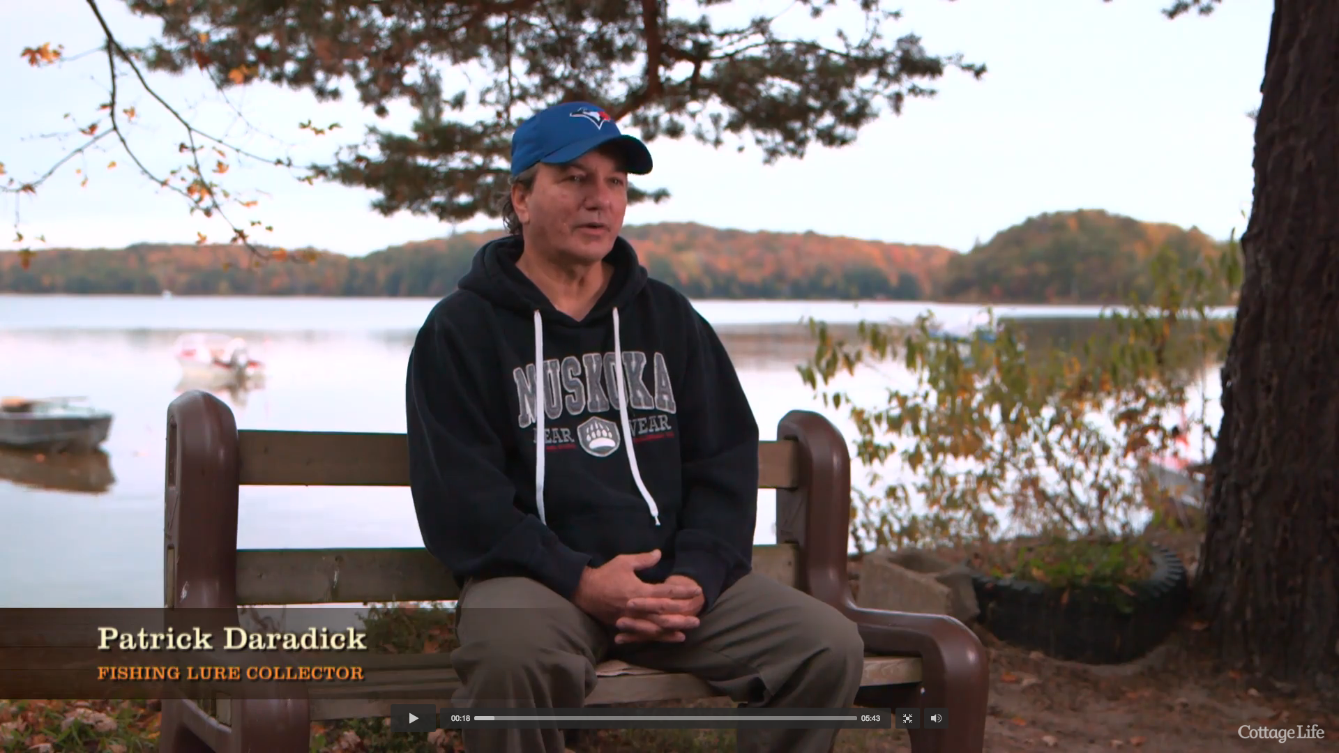 Patrick Daradick on Cottage Life Network
