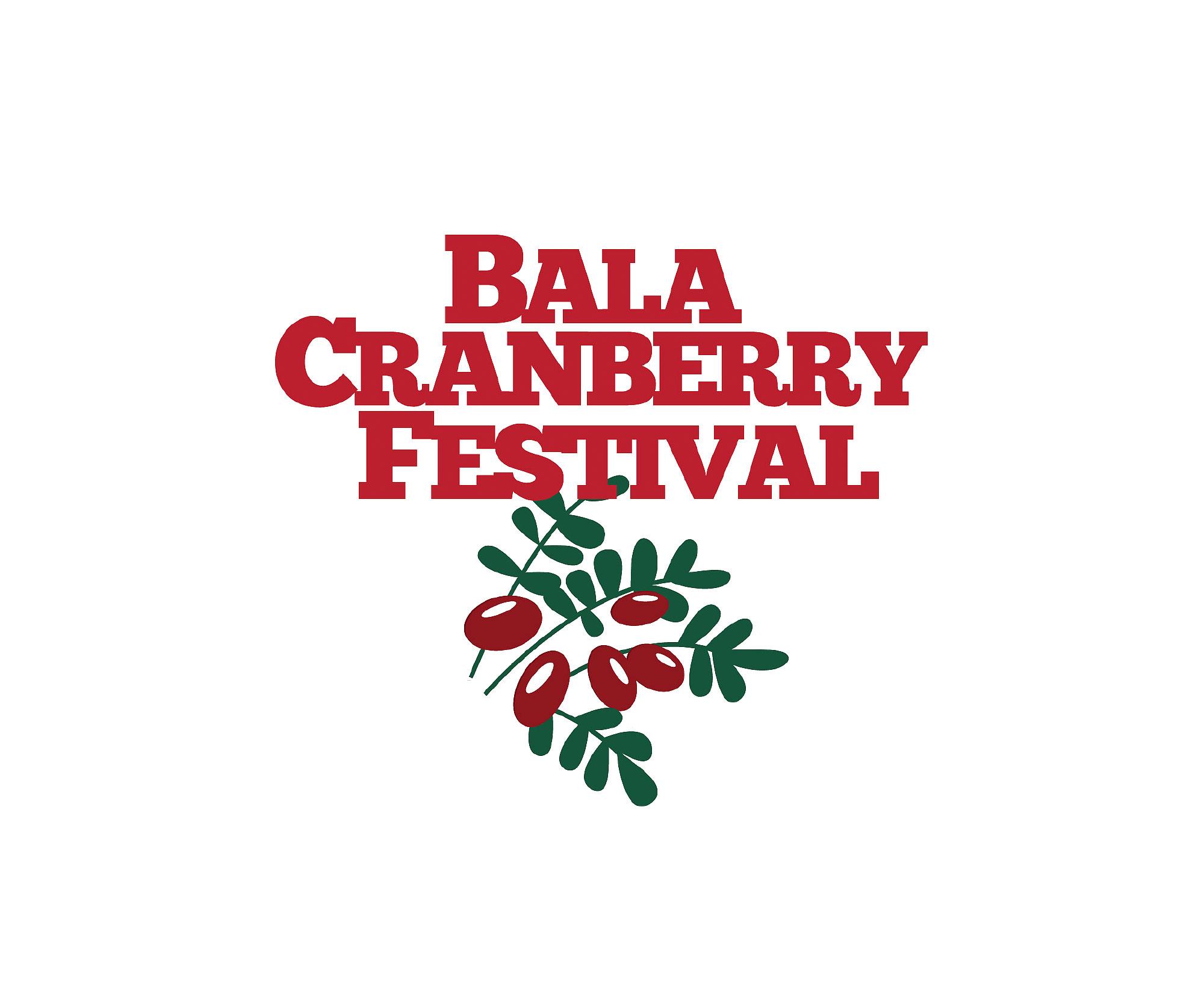 Bala Cranberry Festival – Oct. 14-16, 2016