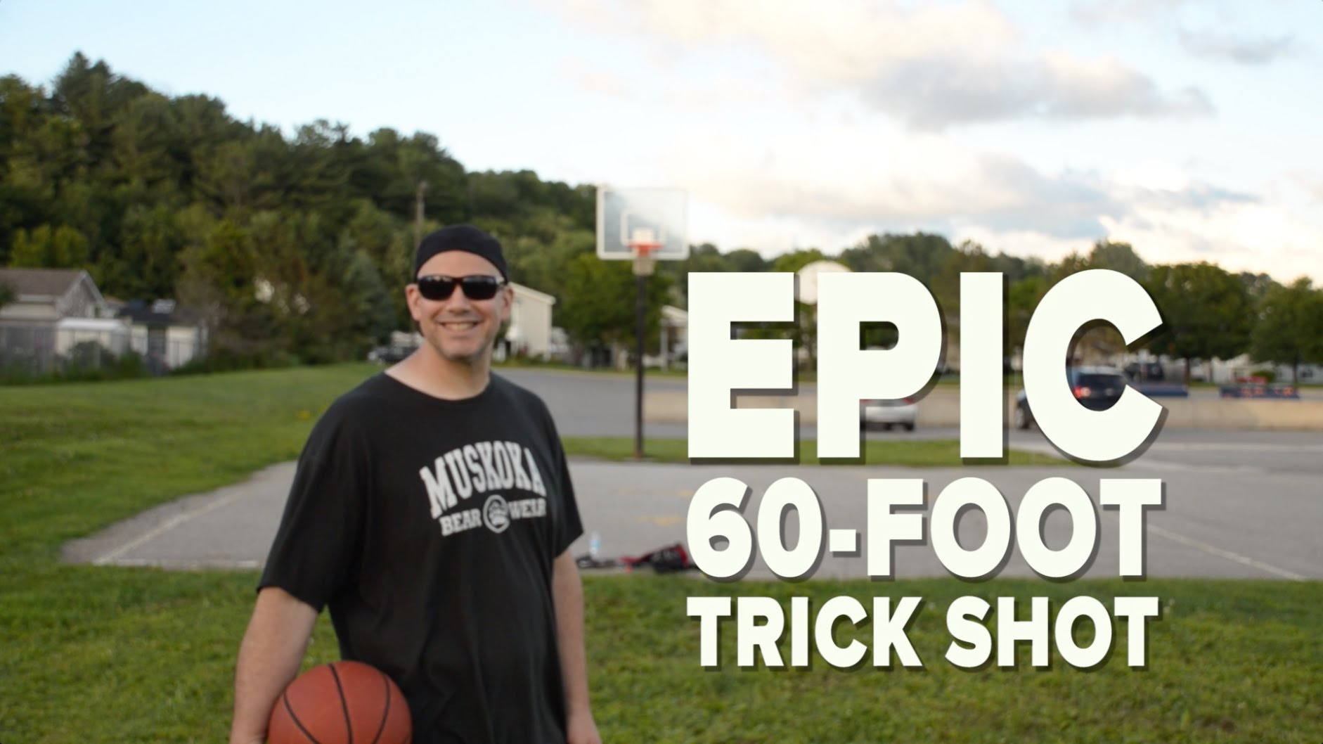 Epic 60-Foot Trick Shot
