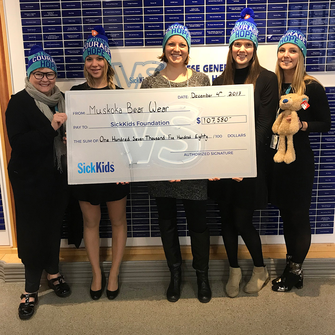 2017 SickKids Donation