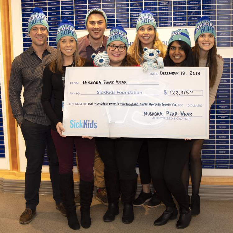 2018 SickKids Donation