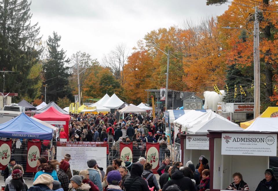 Bala Cranberry Festival (Oct. 18-20)
