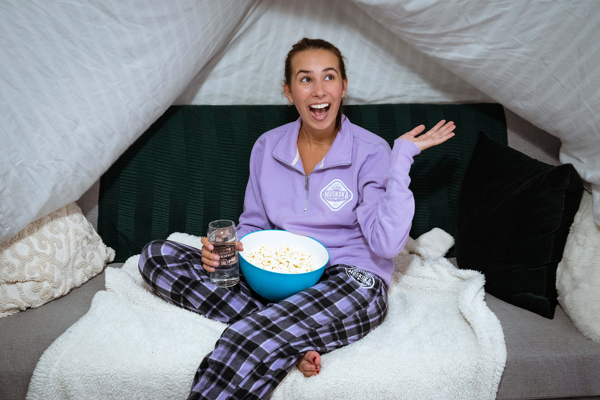 Stay Comfy at Your Summer Sleepover!