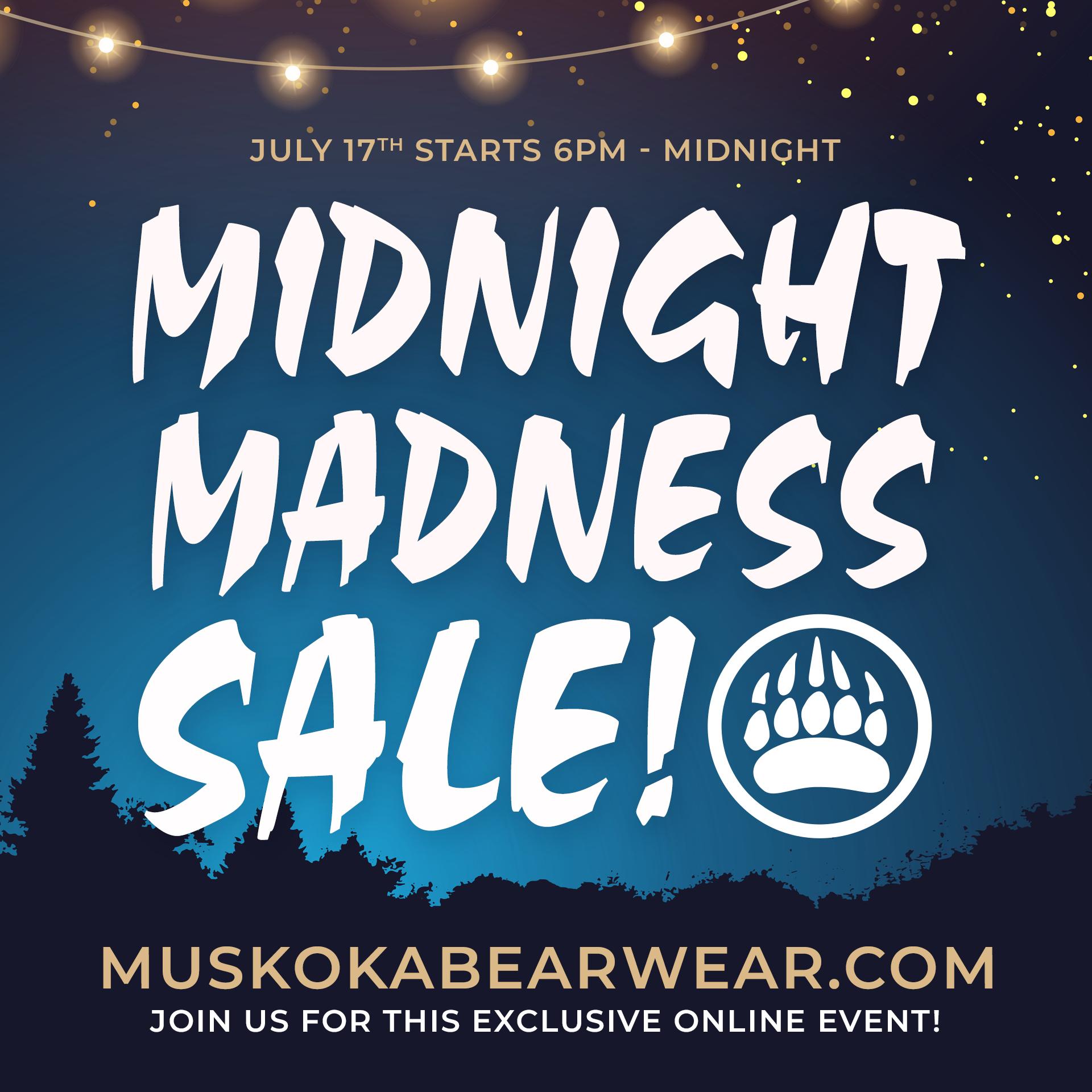 Virtual Midnight Madness!
