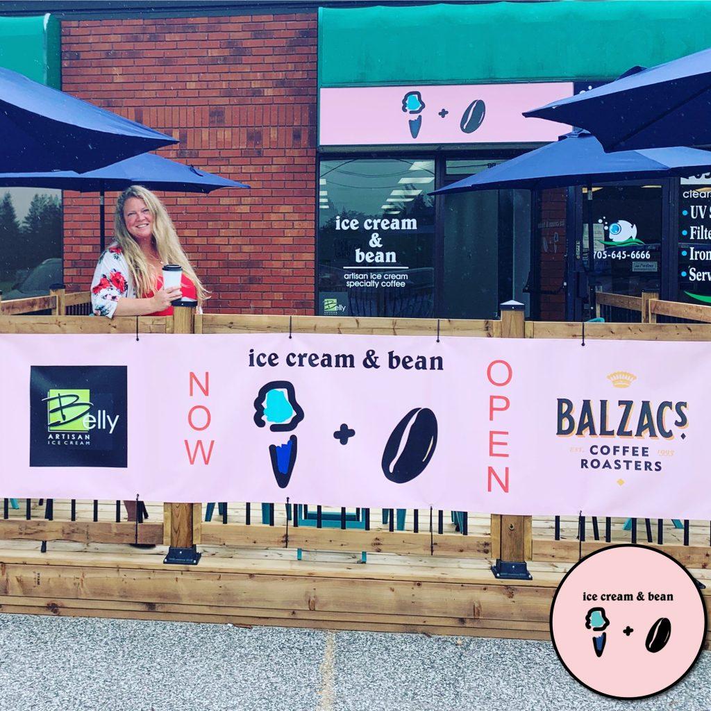 #MBWShoutOuts Week 24: Ice Cream & Bean (Bracebridge)