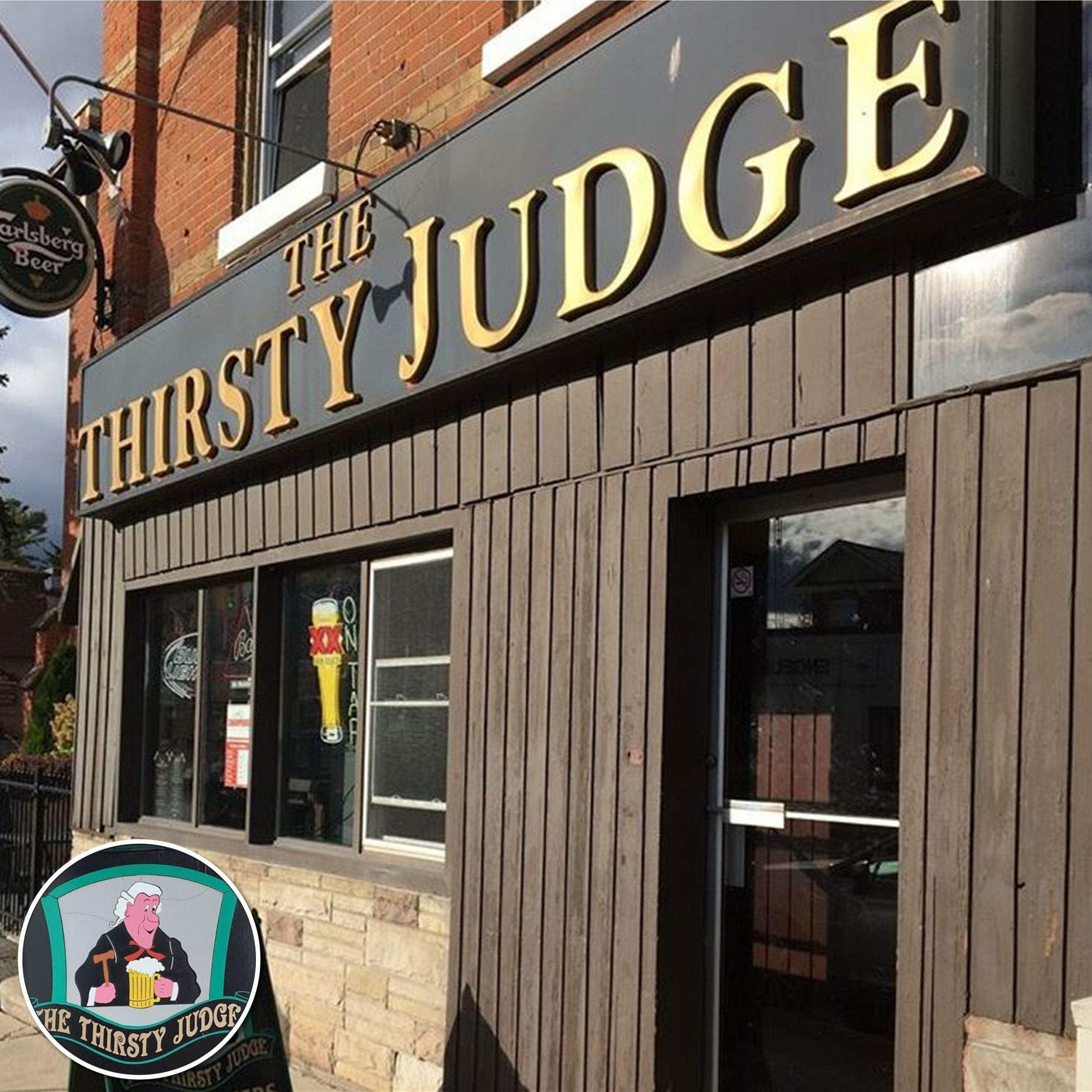 #MBWShoutOuts Week 27: The Thirsty Judge of Bracebridge