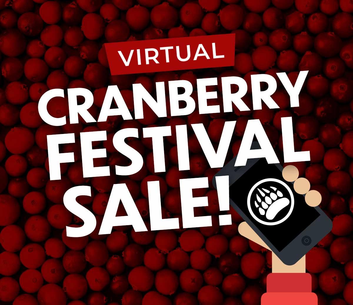 Virtual Cranberry Festival Sale!